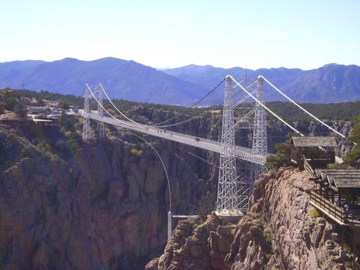 Royal Gorge Bridge Highest Suspension Bridge In the United States