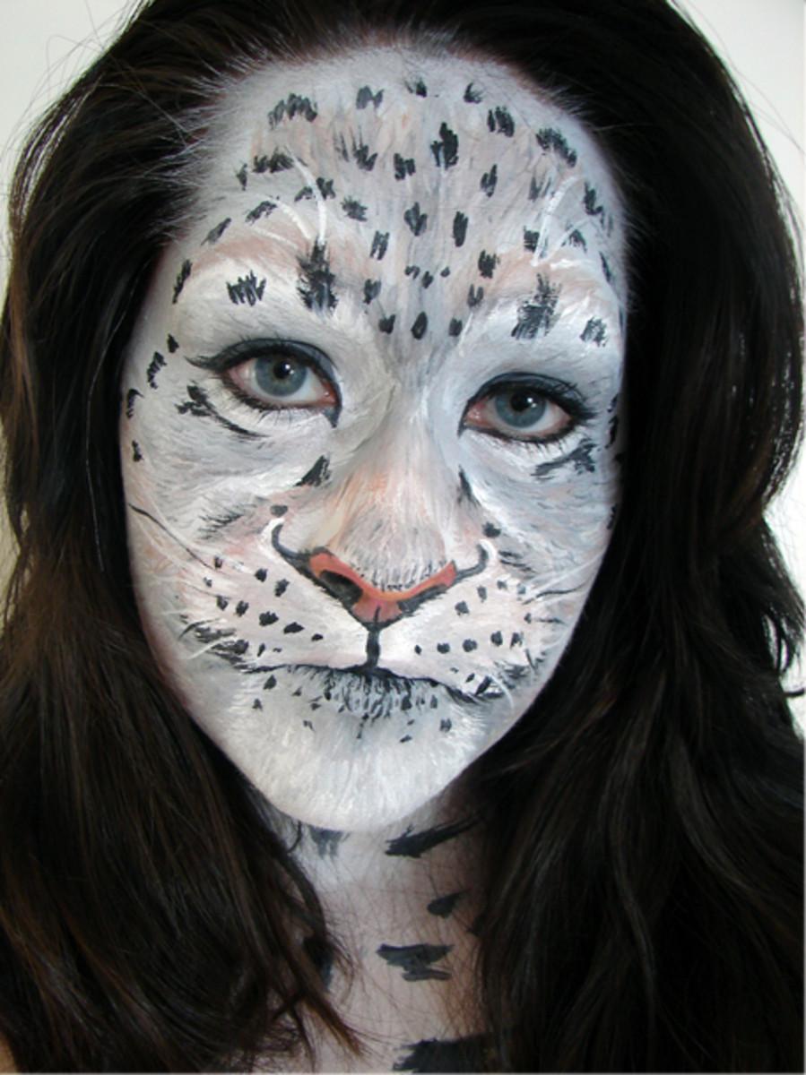 Realistic Cat F... Realistic Tiger Makeup
