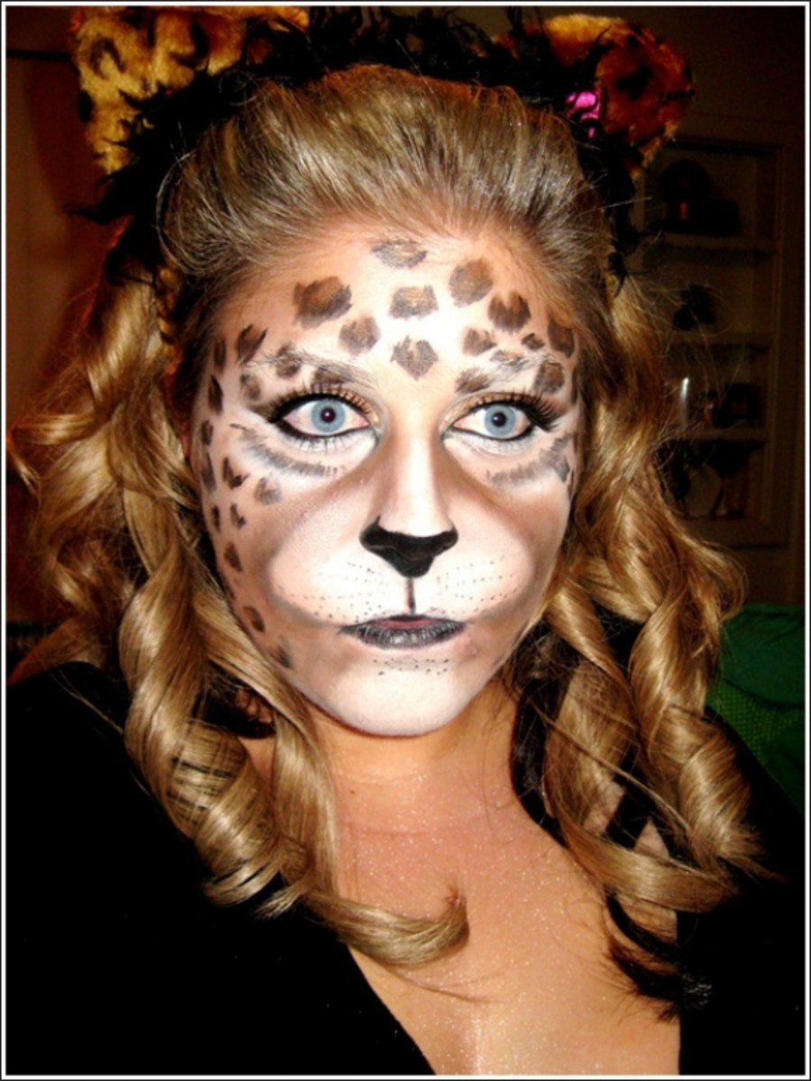 Leopard Makeup Tutorials and Tips