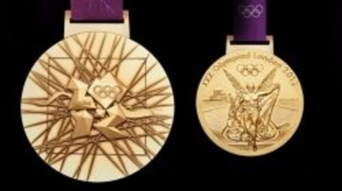 London 2012 Medal Design
