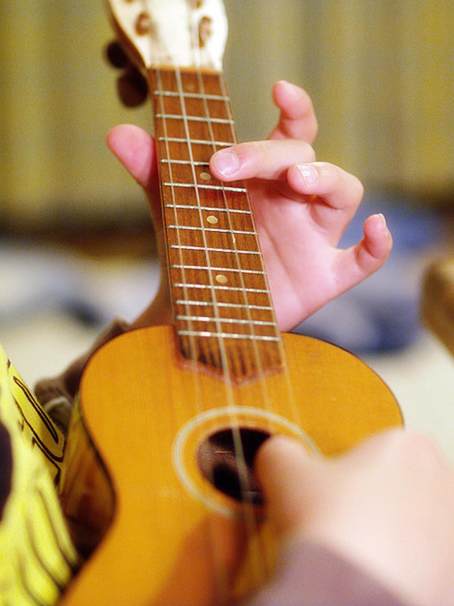 An ukulele