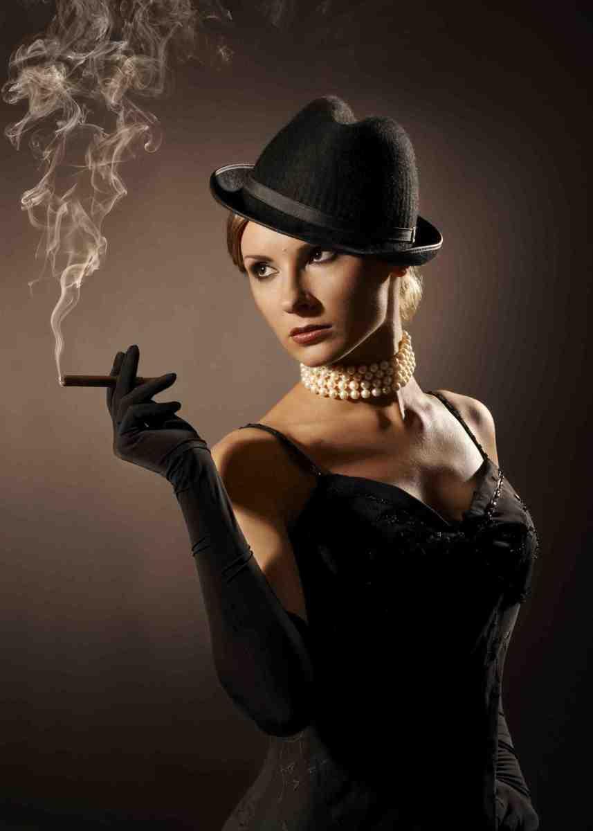 Femme Fatale public domain