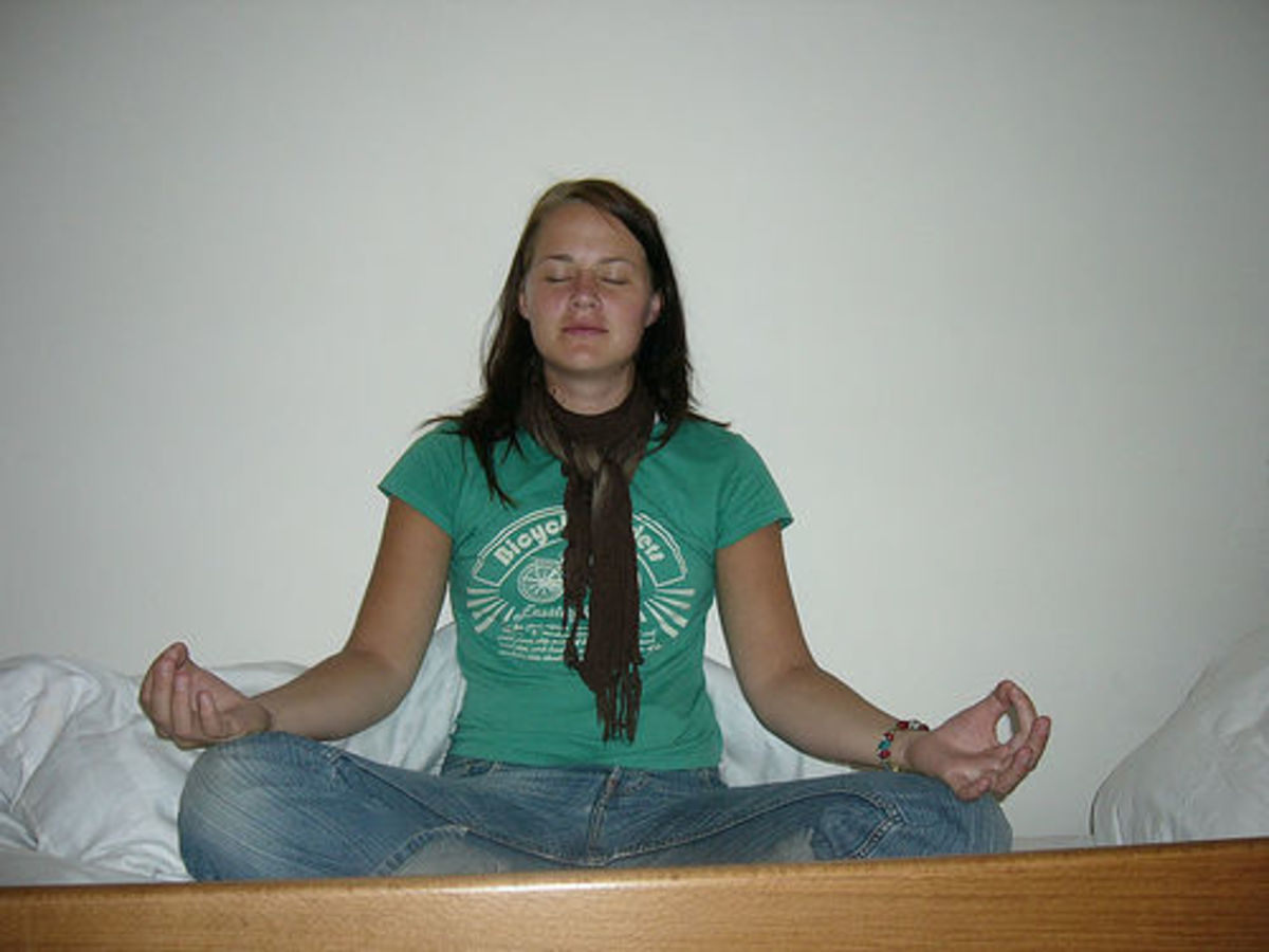 Meditation is useful for phobias and anxiety problems.