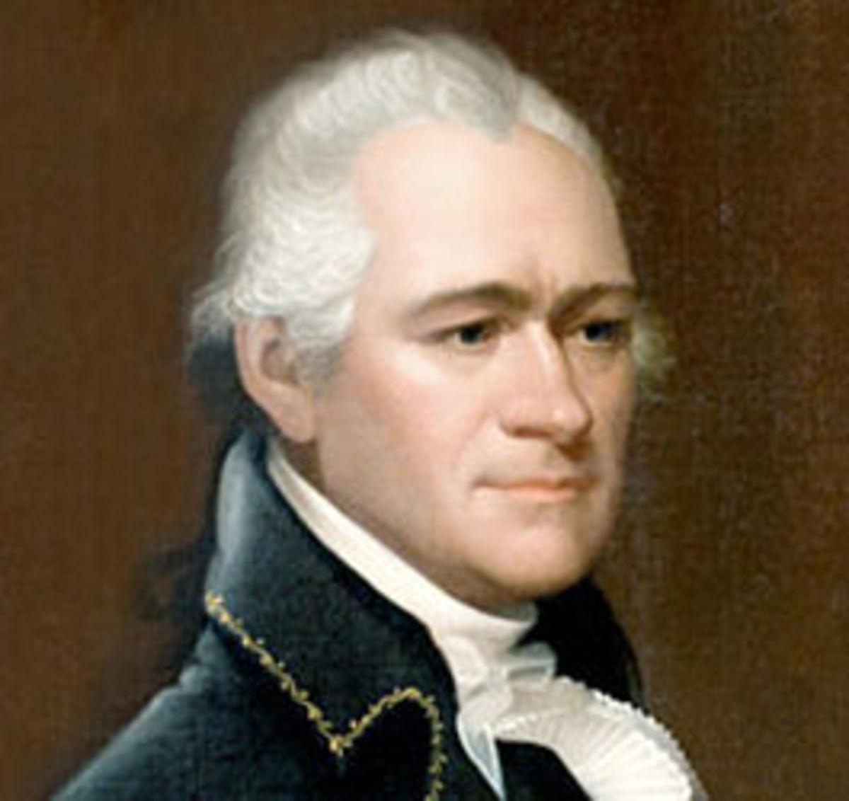 SECRETARY OF THE TREASURY ALEXANDER HAMILTON
