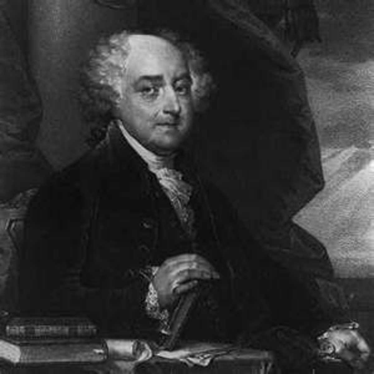 PRESIDENT JOHN ADAMS (b. 1735,   d. 1826), POTUS #2, 1797 - 1803