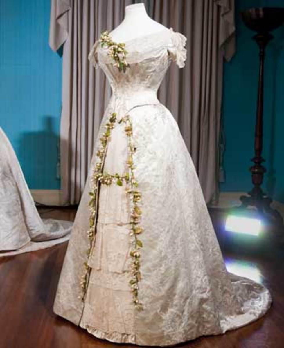 Princess Mary's Victorian 1893 Dress