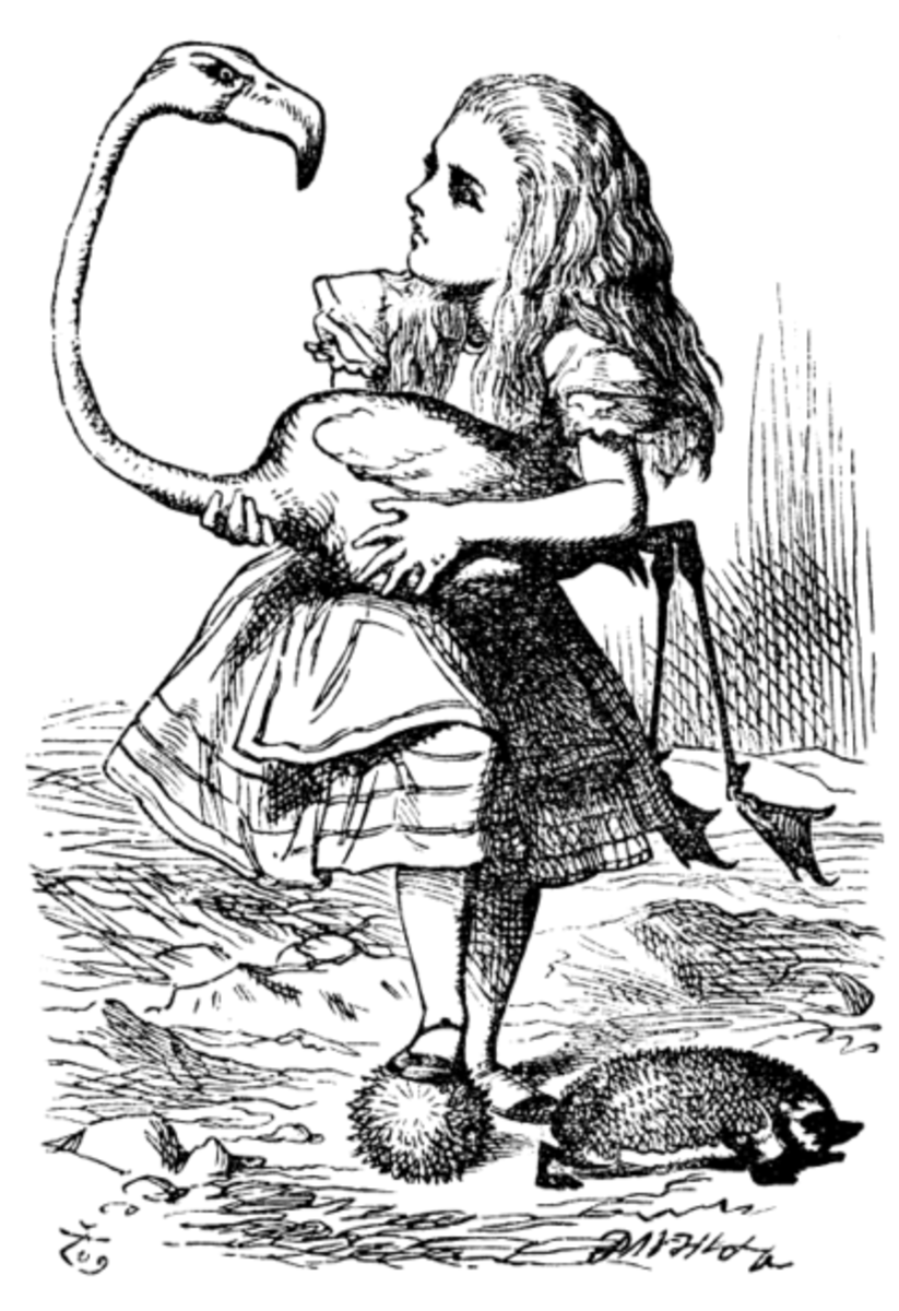 Alice Tenniel Illustration
