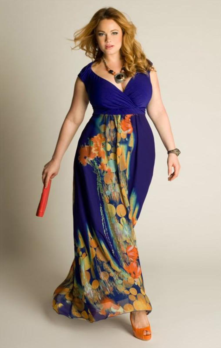Younkers Plus Size Maxi Dresses 26