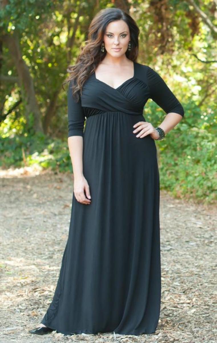 Black Maxi Dress Plus Size Uk: Clothes shoes accessories gt women ...