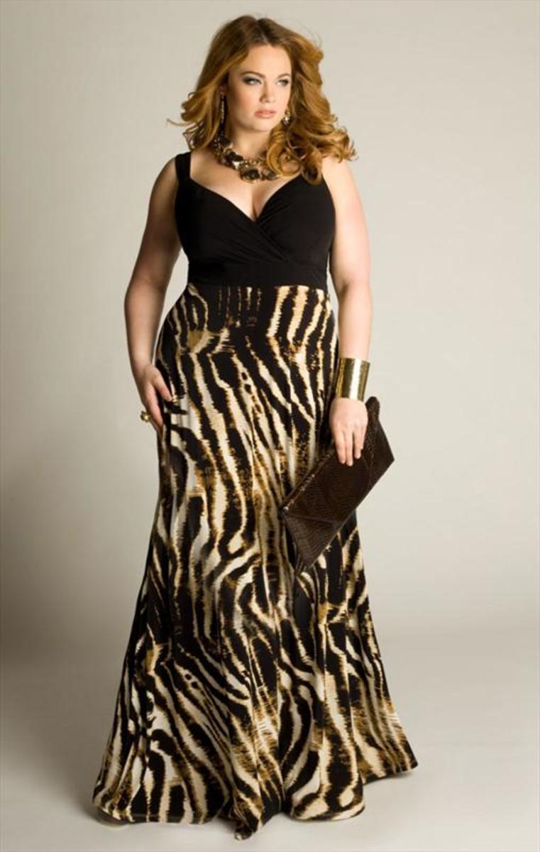 Flattering Plus Size Maxi Dresses