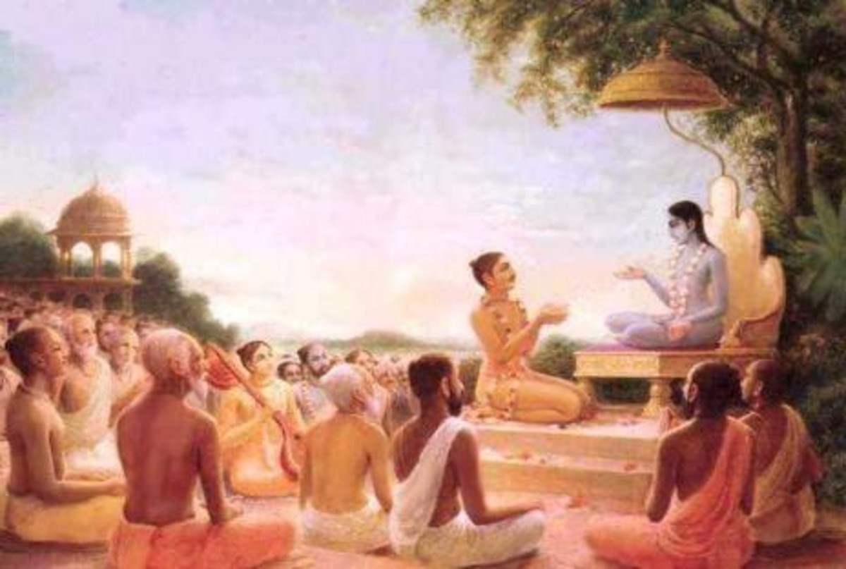 King Parikshith spent the last 7 days of his life listening to the glories of his Lord from sage Suka and had a death as wonderful and glorious as his birth and life!