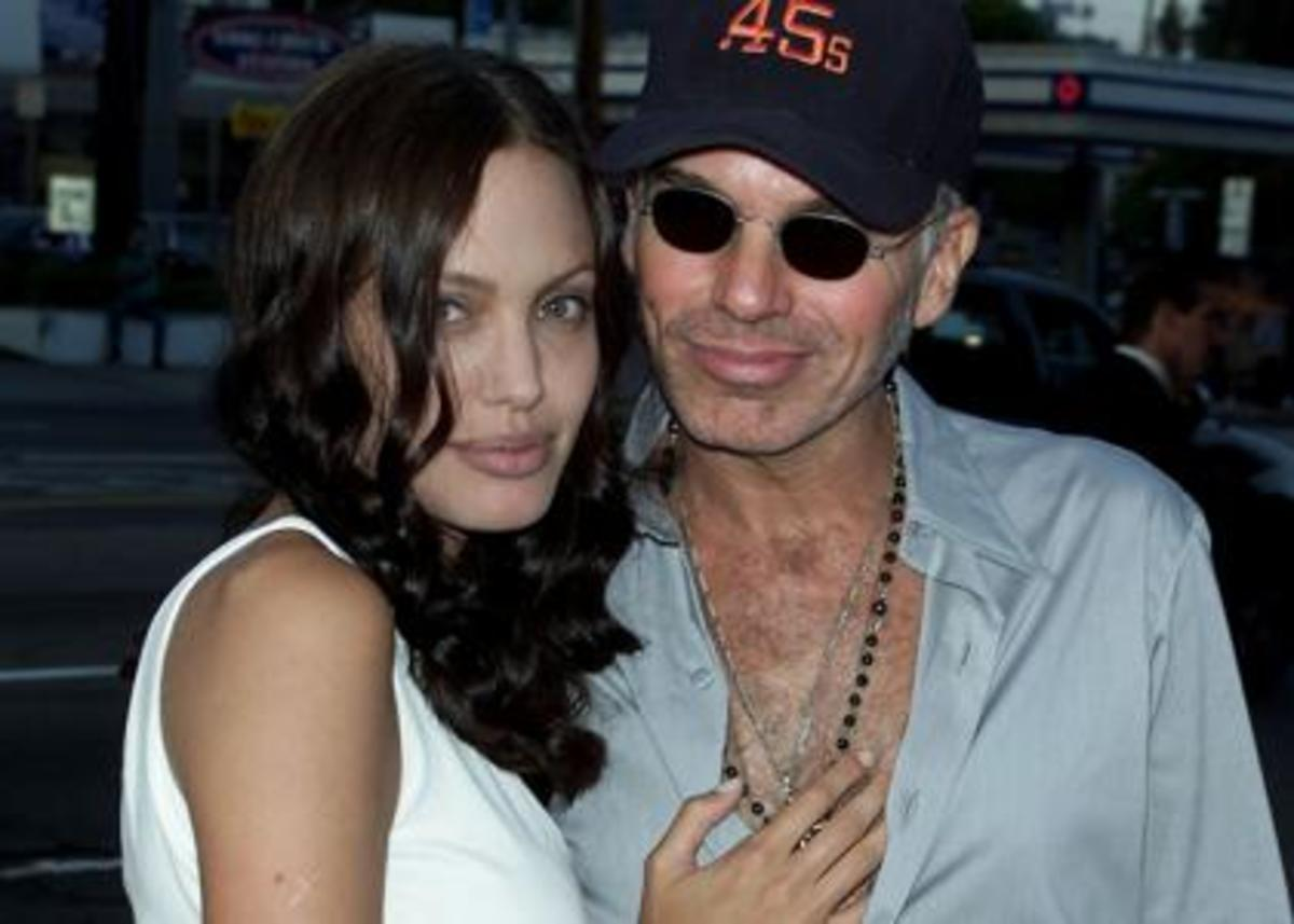 Angelina Jolie and ex Billy Bob Thornton
