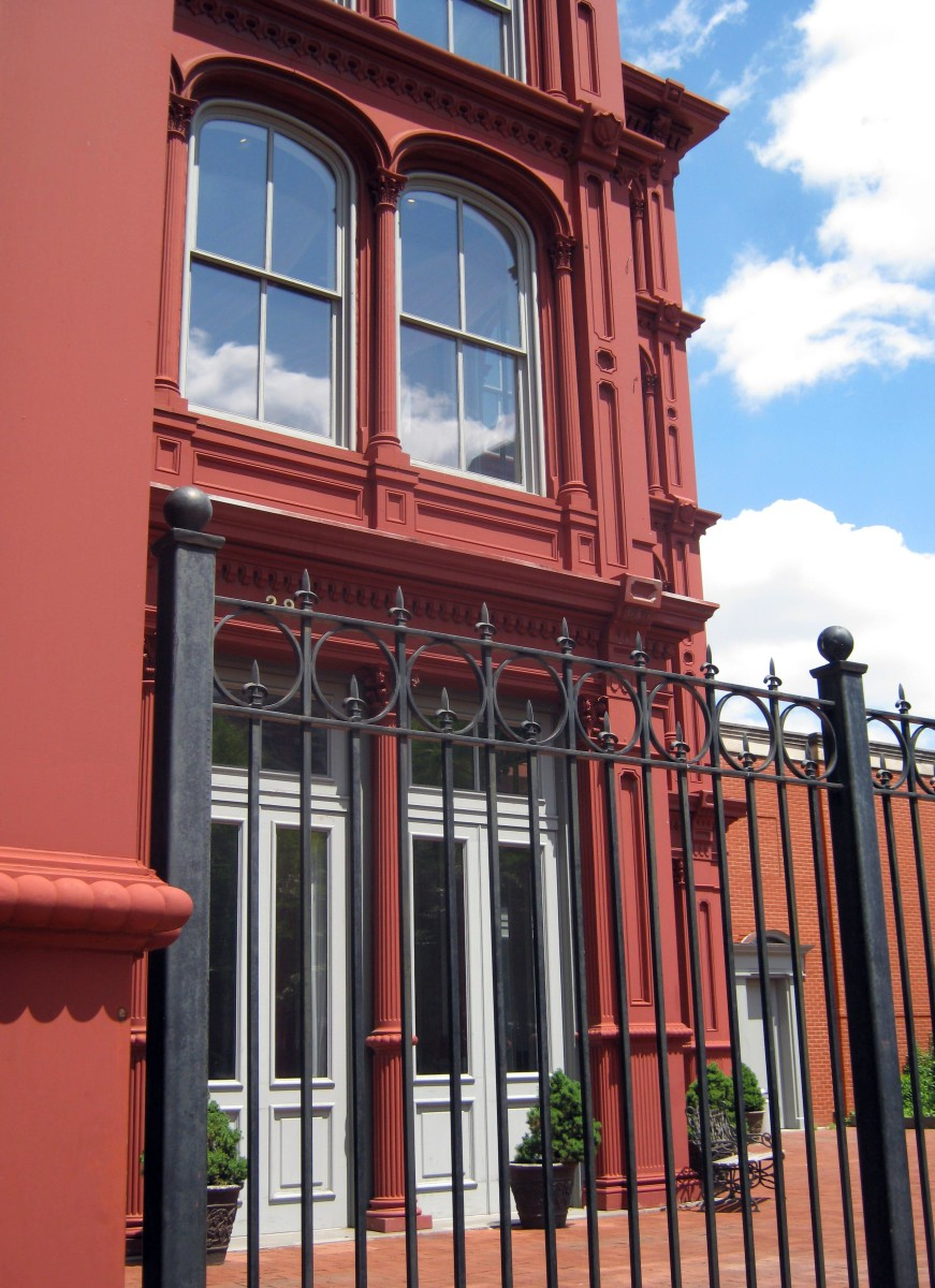 Baltimore's  Cast Iron Buildings and Ornamental Ironwork