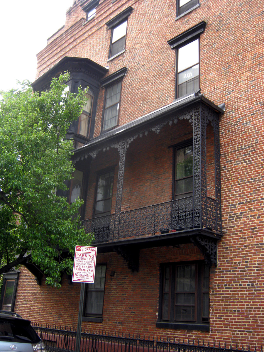 Baltimore S Cast Iron Buildings And Ornamental Ironwork