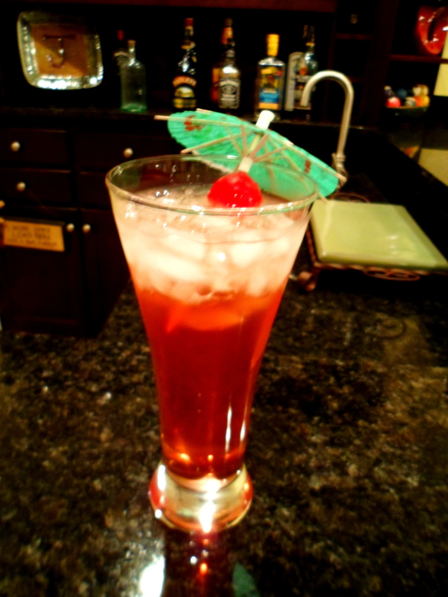 Serve up some fun with the Woo-Woo cocktail.