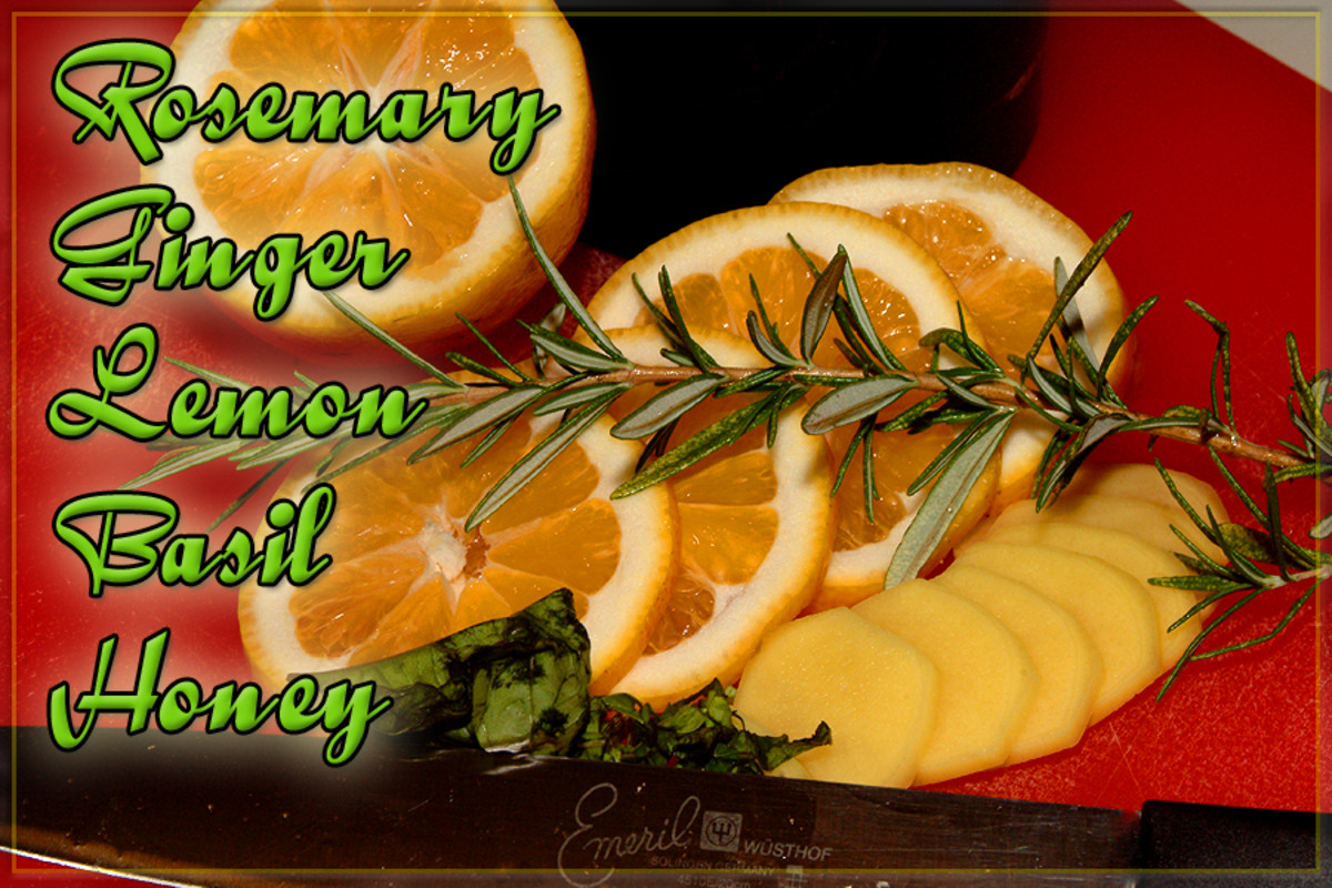 Rosemary Ginger Tea Ingredients