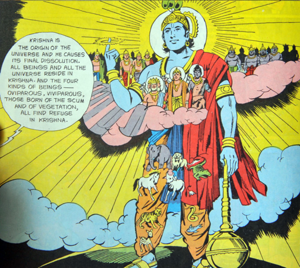God-bashing : The Mahabharata solution for devotees