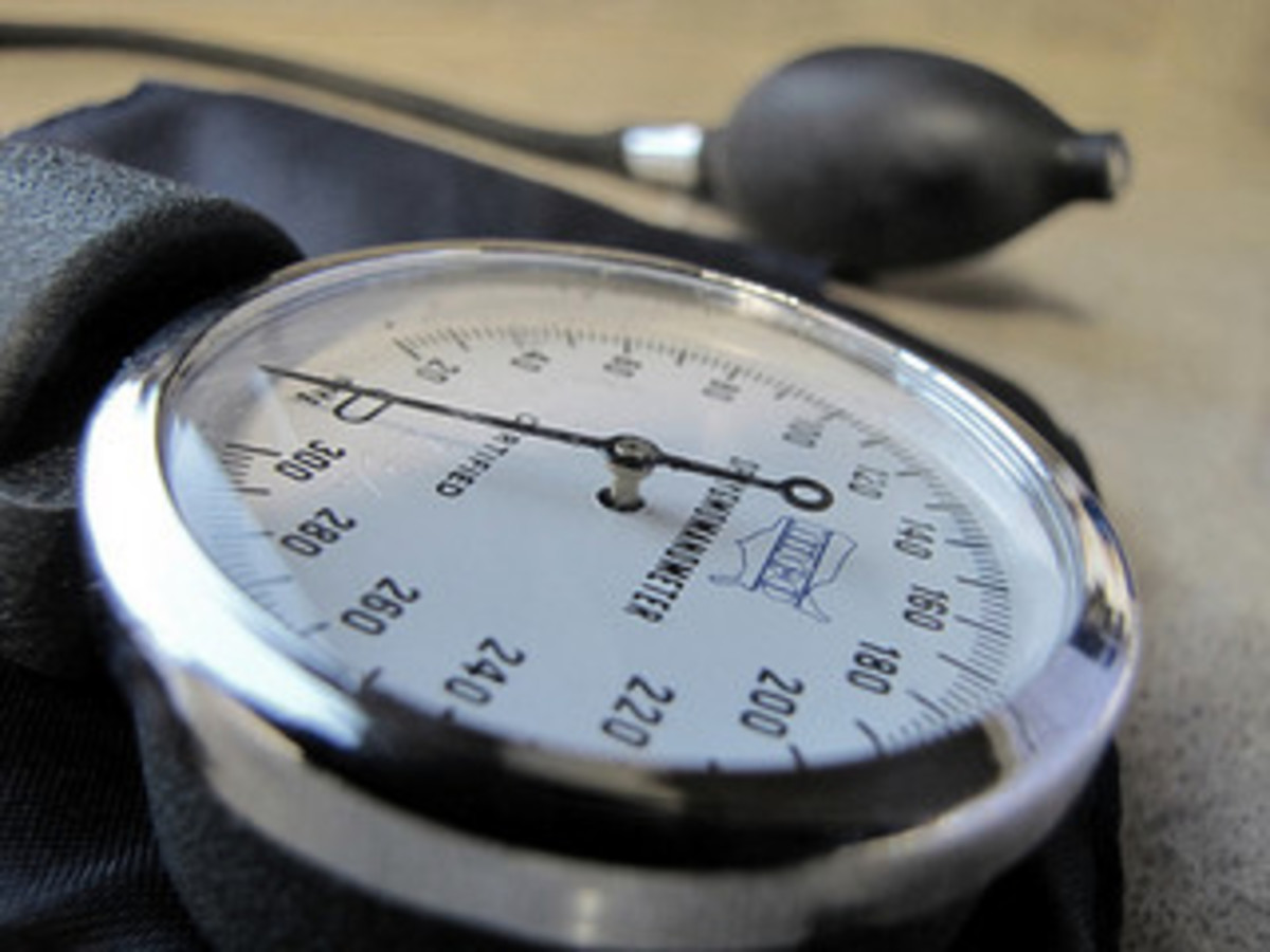 Check your blood pressure on a regular basis to help prevent hypertension