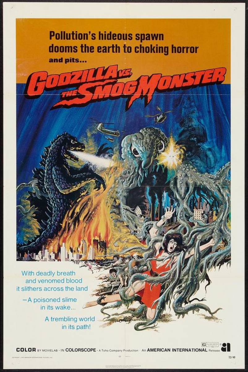 Godzilla vs The Smog Monster (1971)