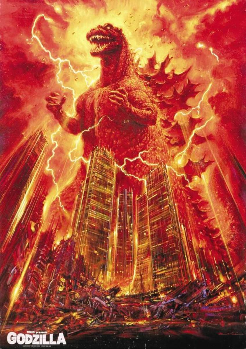 Godzilla 1985 (1984) Japanese poster