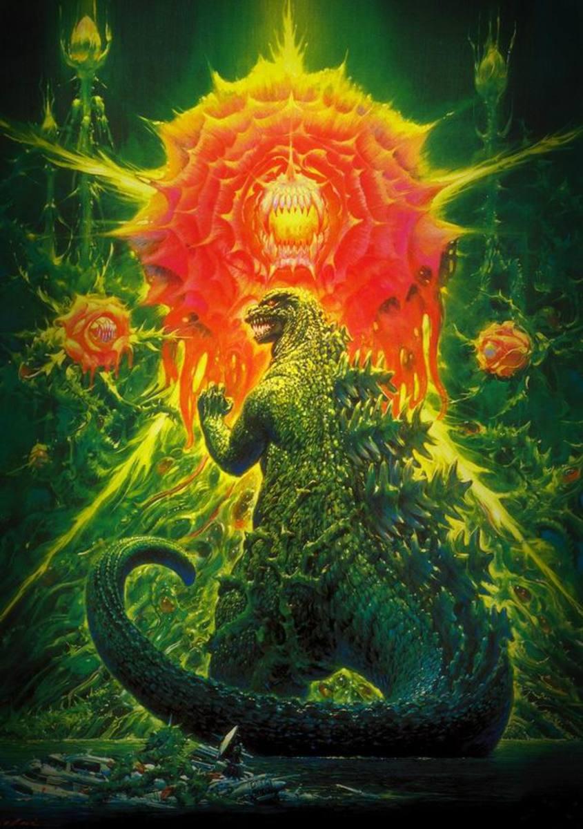 Godzilla vs Biollante (1989) Japanese poster