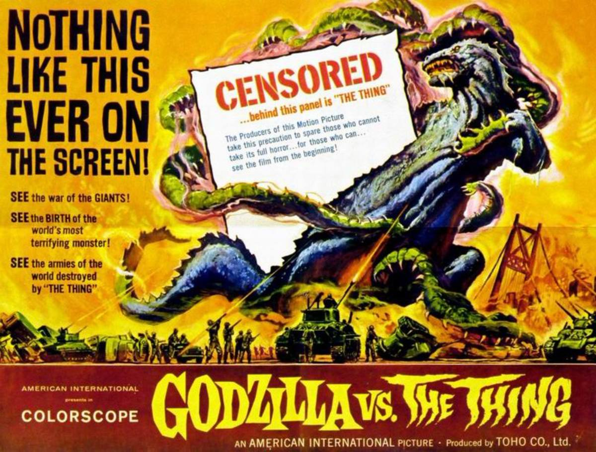 Godzilla vs The Thing (1964)