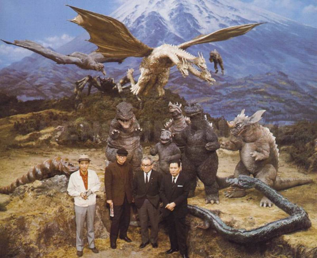 Destroy All Monsters (1968) Ishiro Honda and friends