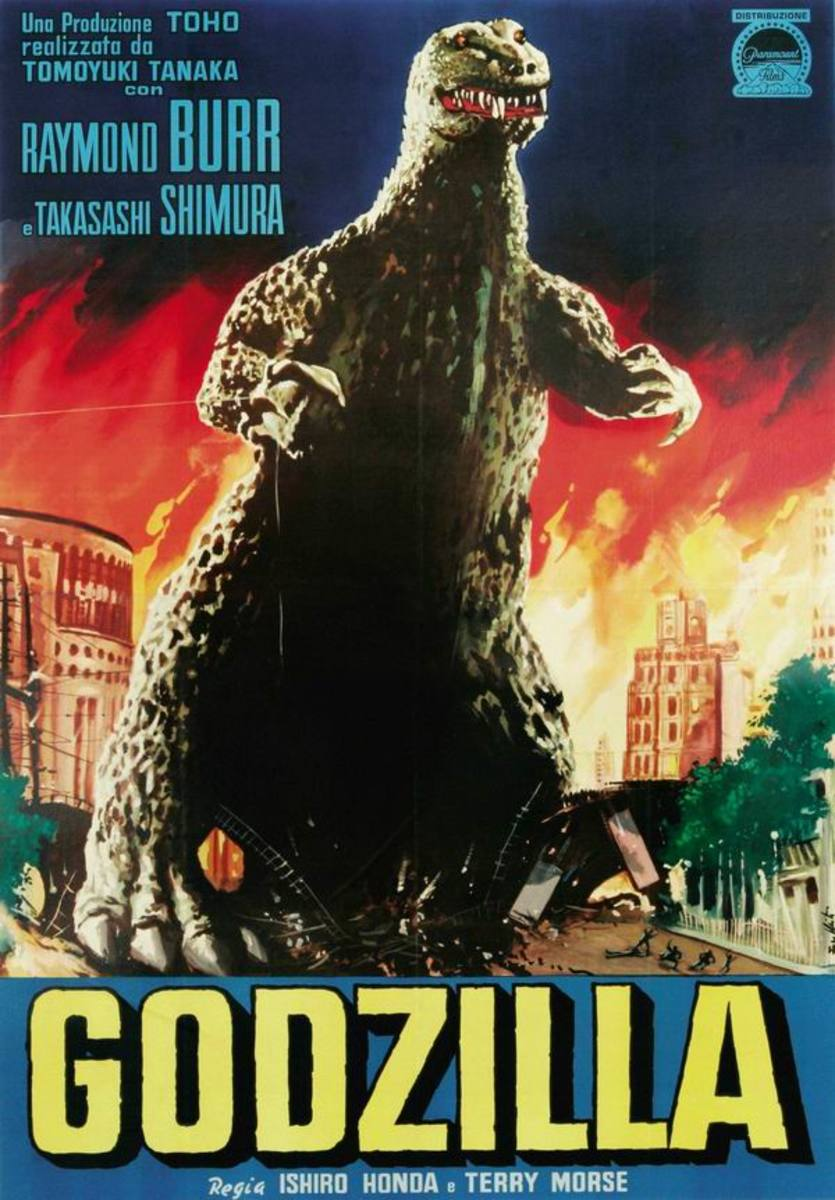 Godzilla - on the Screen  (1954 - 2014)