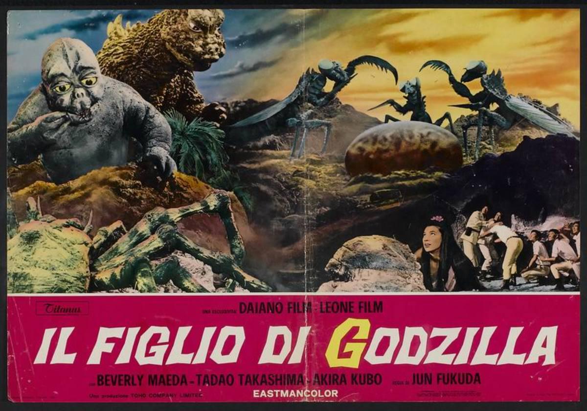 Son of Godzilla (1967) Italian poster