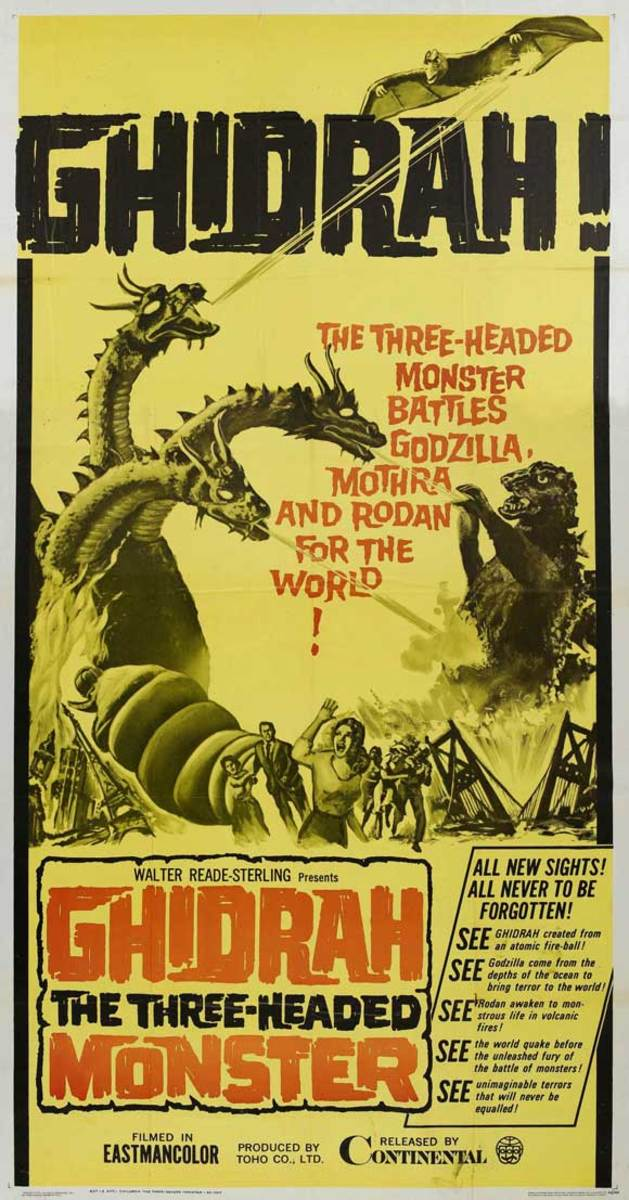 Ghidrah the Three-Headed Monster (1964)