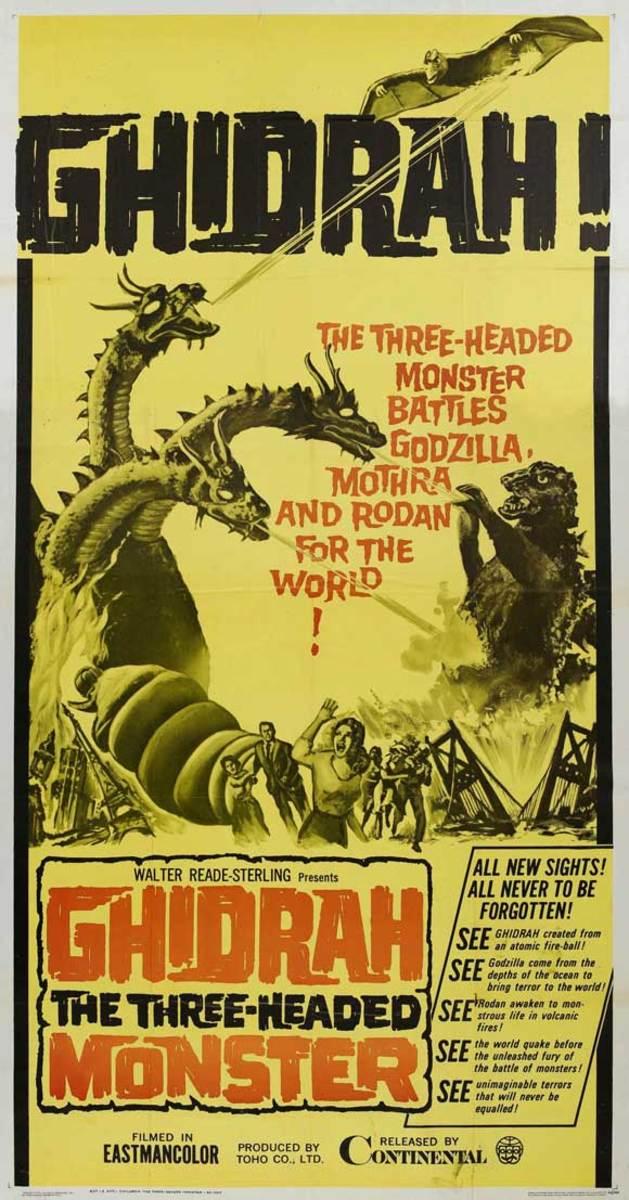 Ghidrah the Three-Headed Monster (1964)