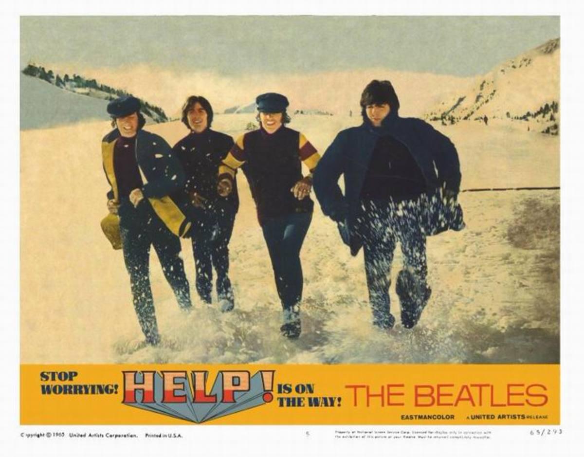 Help! (1965) lobby card