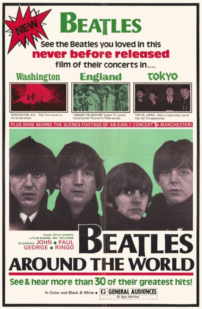 Beatles Around the World poster