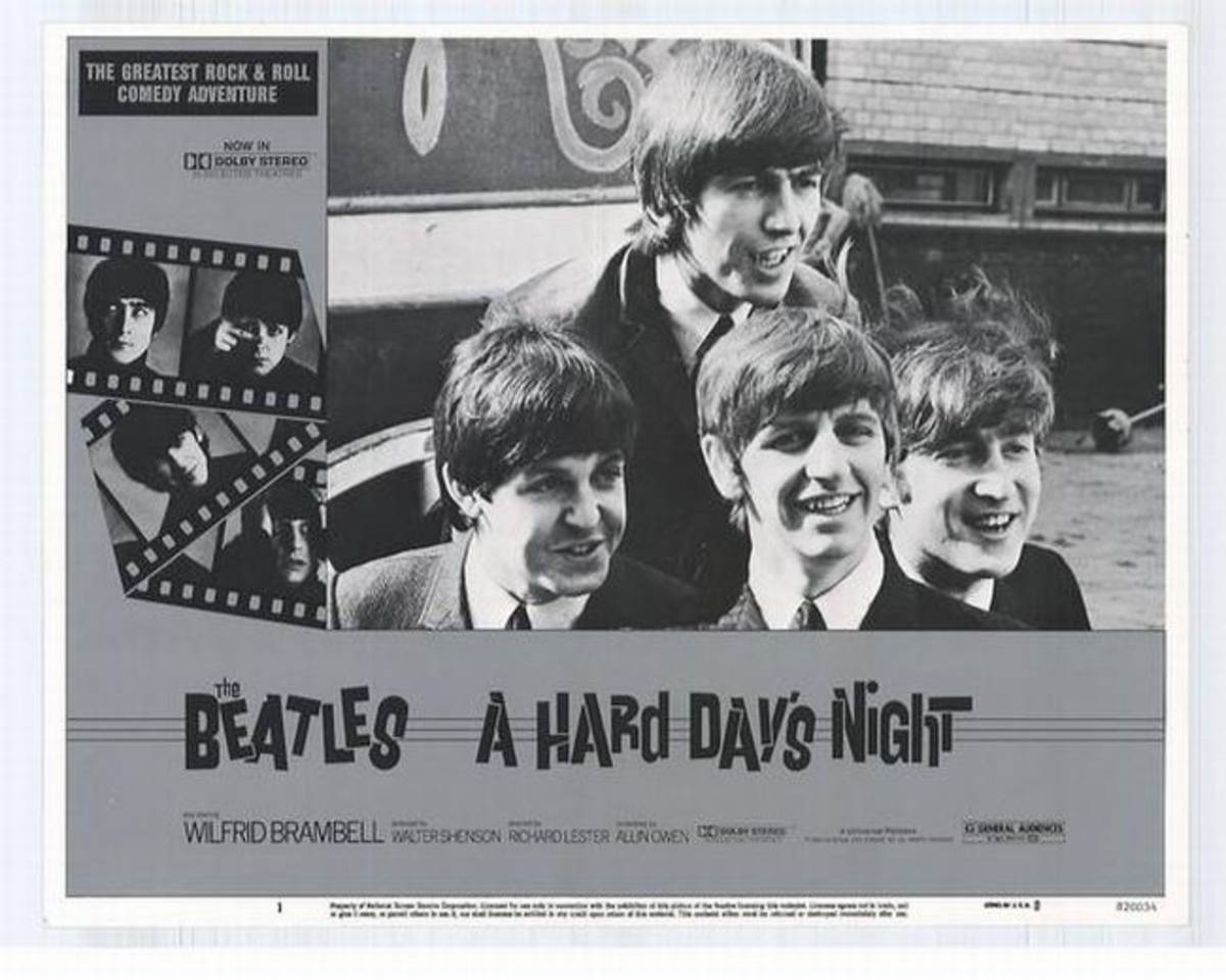 A Hard Day's Night (1964) lobby card