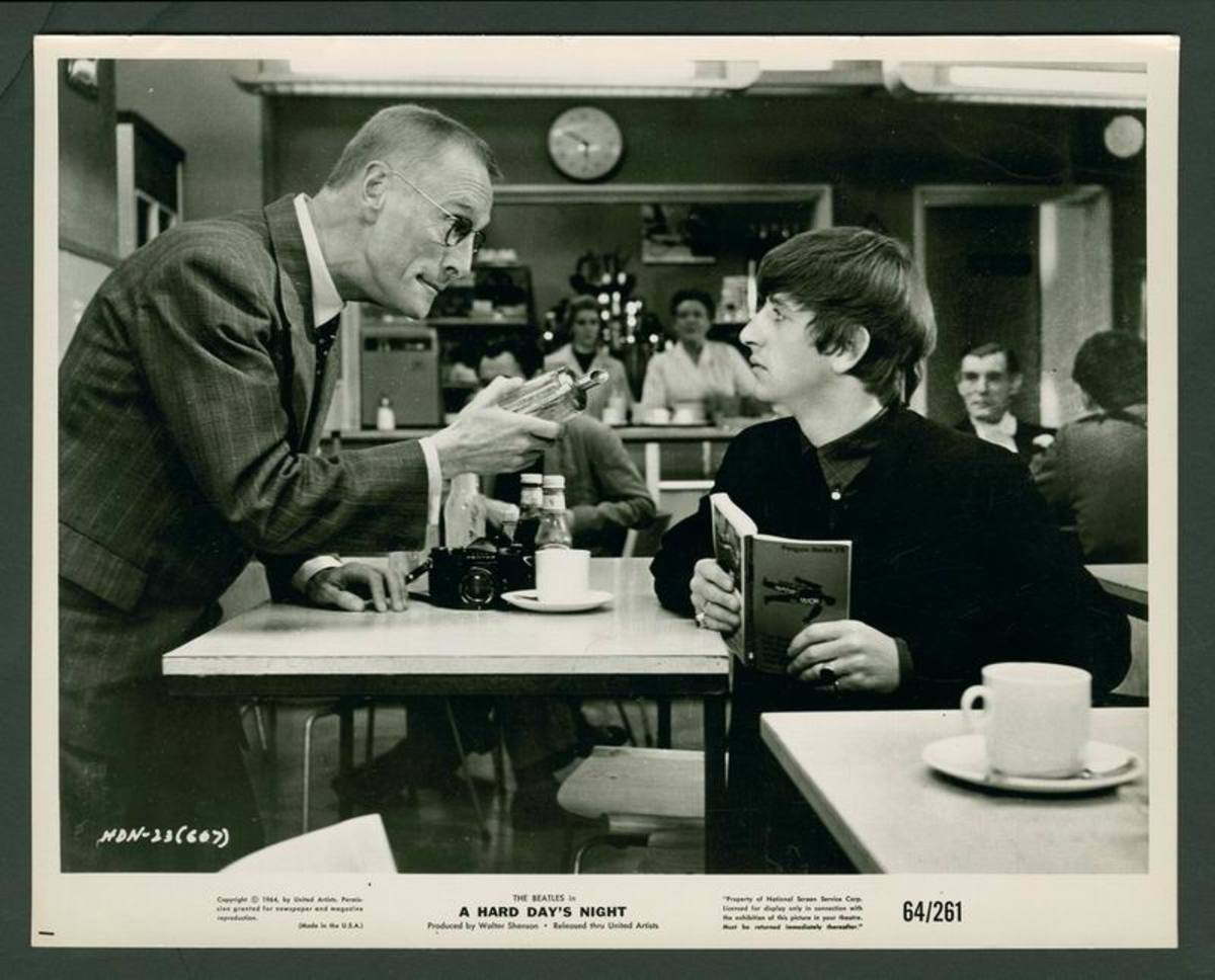 A Hard Day's Night (1964) lobby card