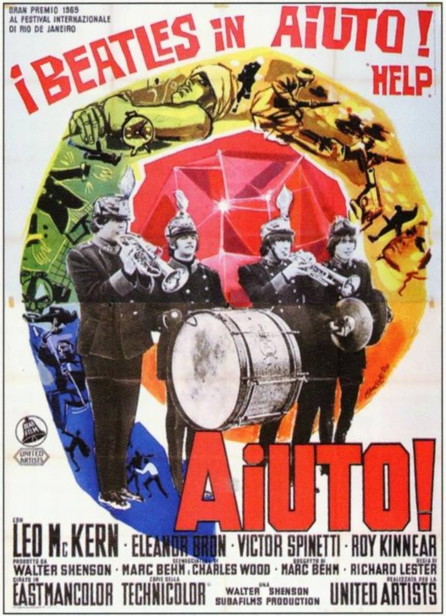 Help! (1965) Italian poster