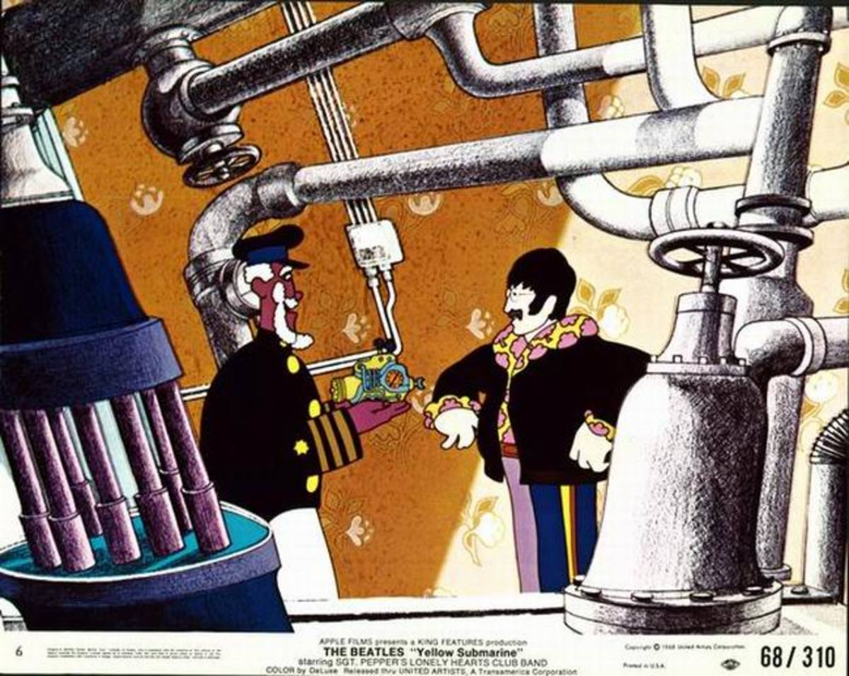 Yellow Submarine (1968) lobby card