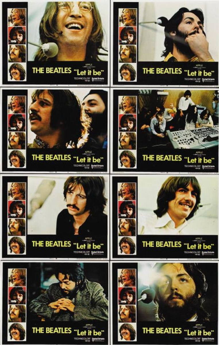 Let it Be (1970) lobby cards
