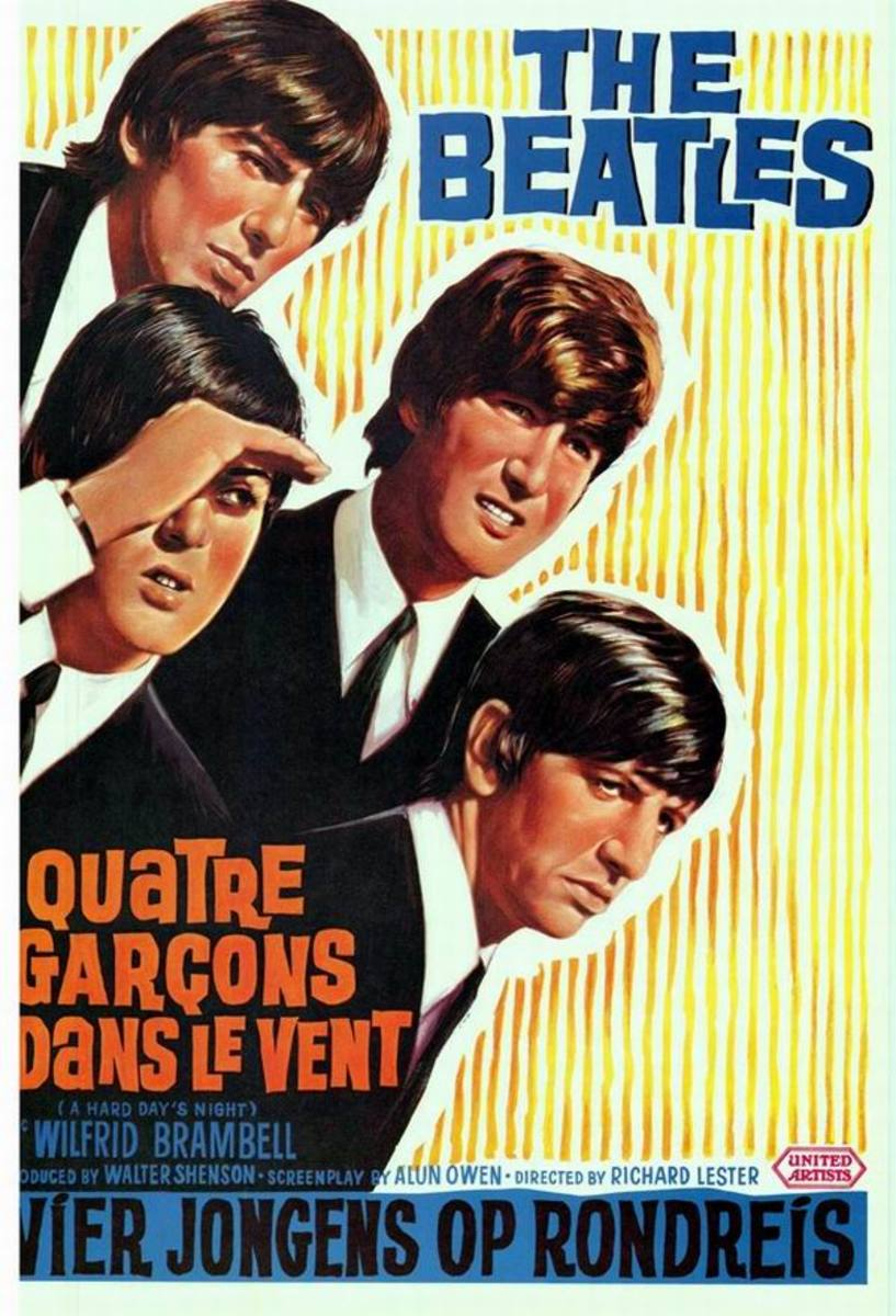 A Hard Day's Night (1964) Belgium poster