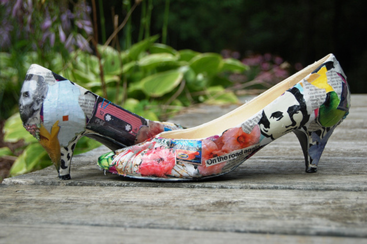 A fun way to personalise your shoes with your favourite images and quotes.