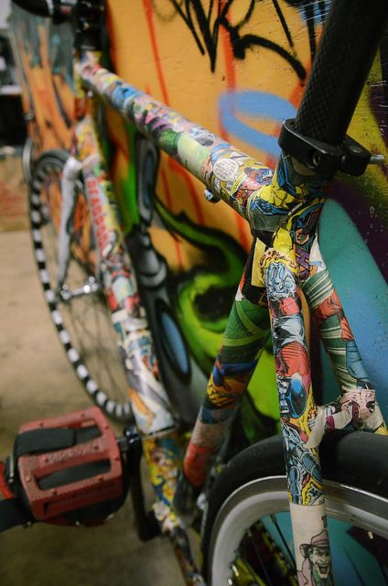 This awesome bike is owned by Jarred Foster.