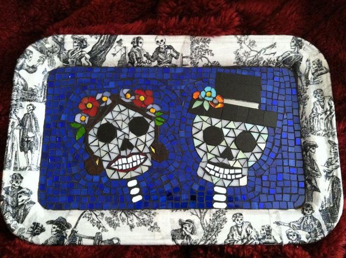 Mosaic by Beth Silverman.