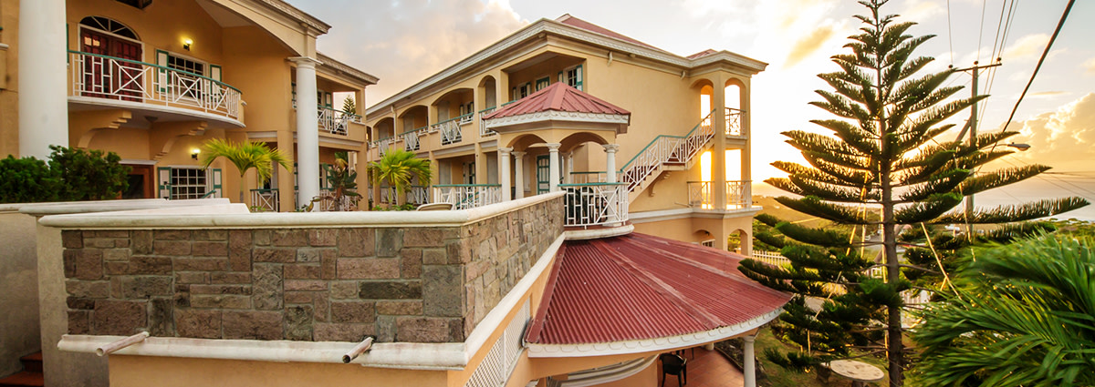 Tropical Mansion Suites.