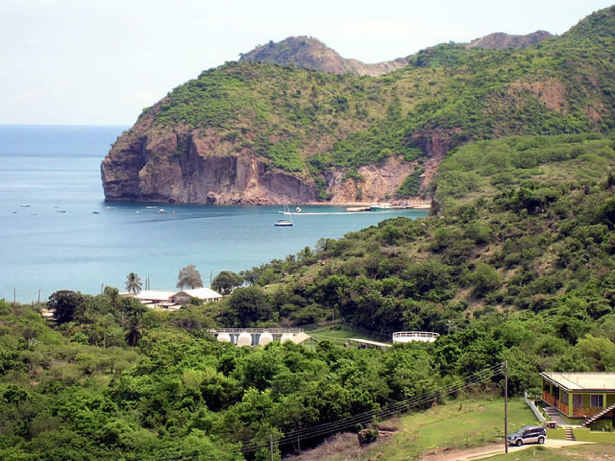 Little Bay, Montserrat.