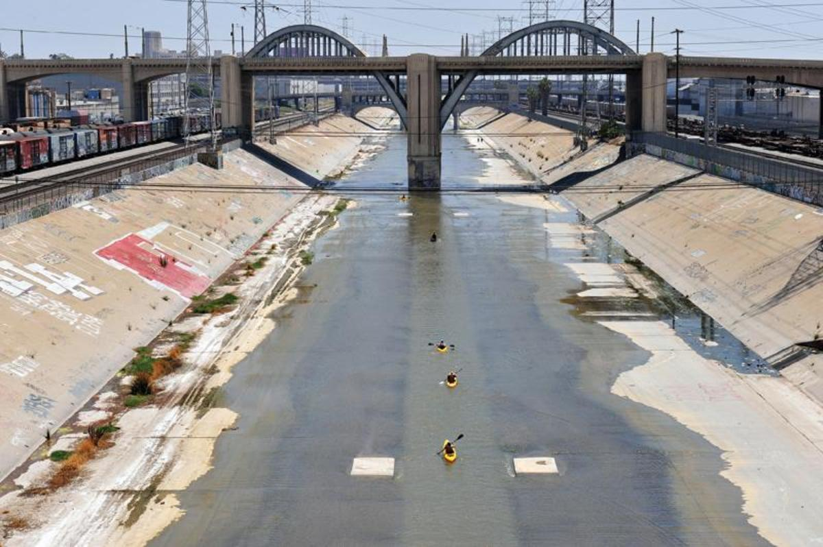 The Los Angeles River: a haiku sequence