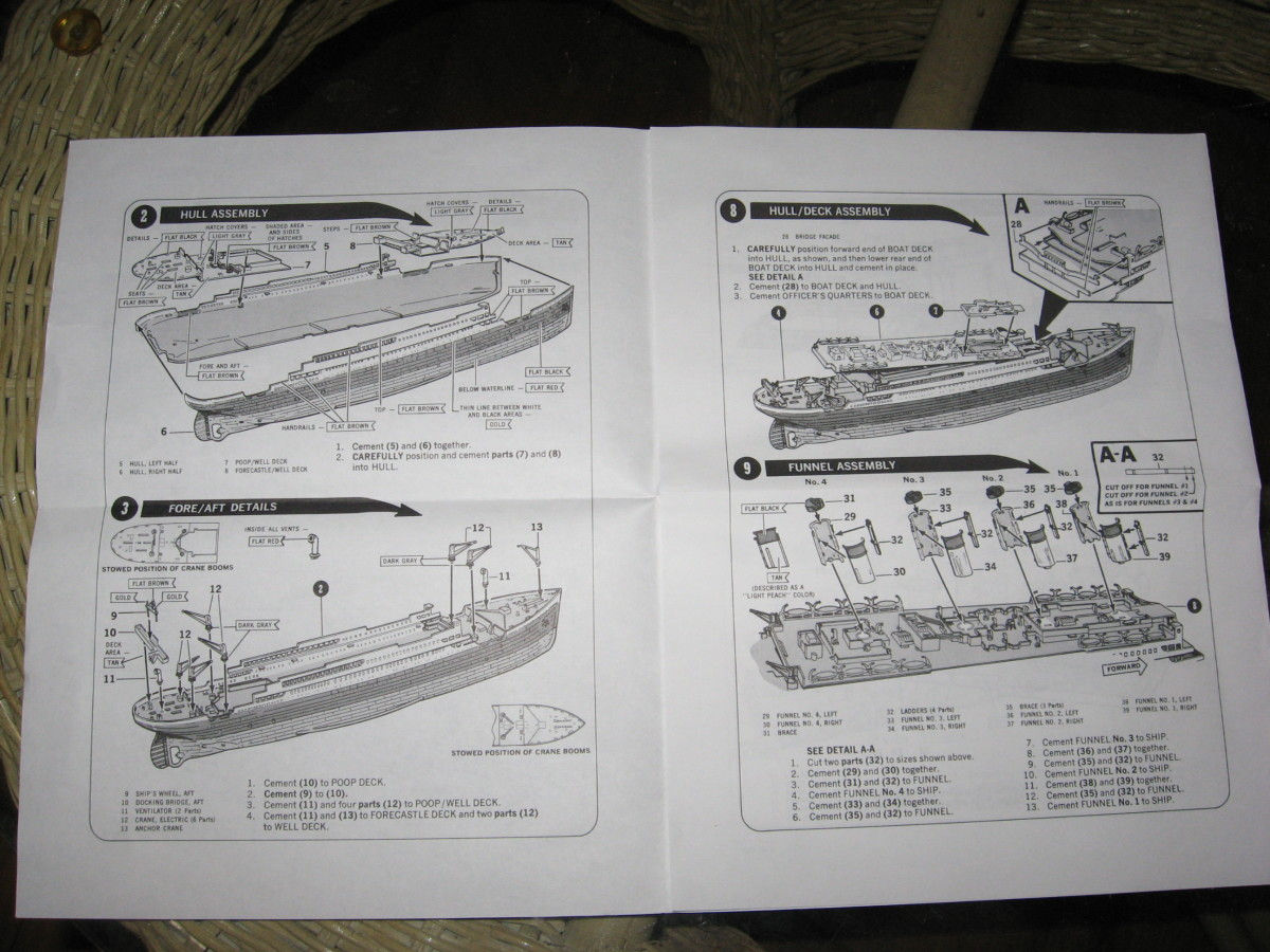 Become very familiar with the diagrams and instructions.