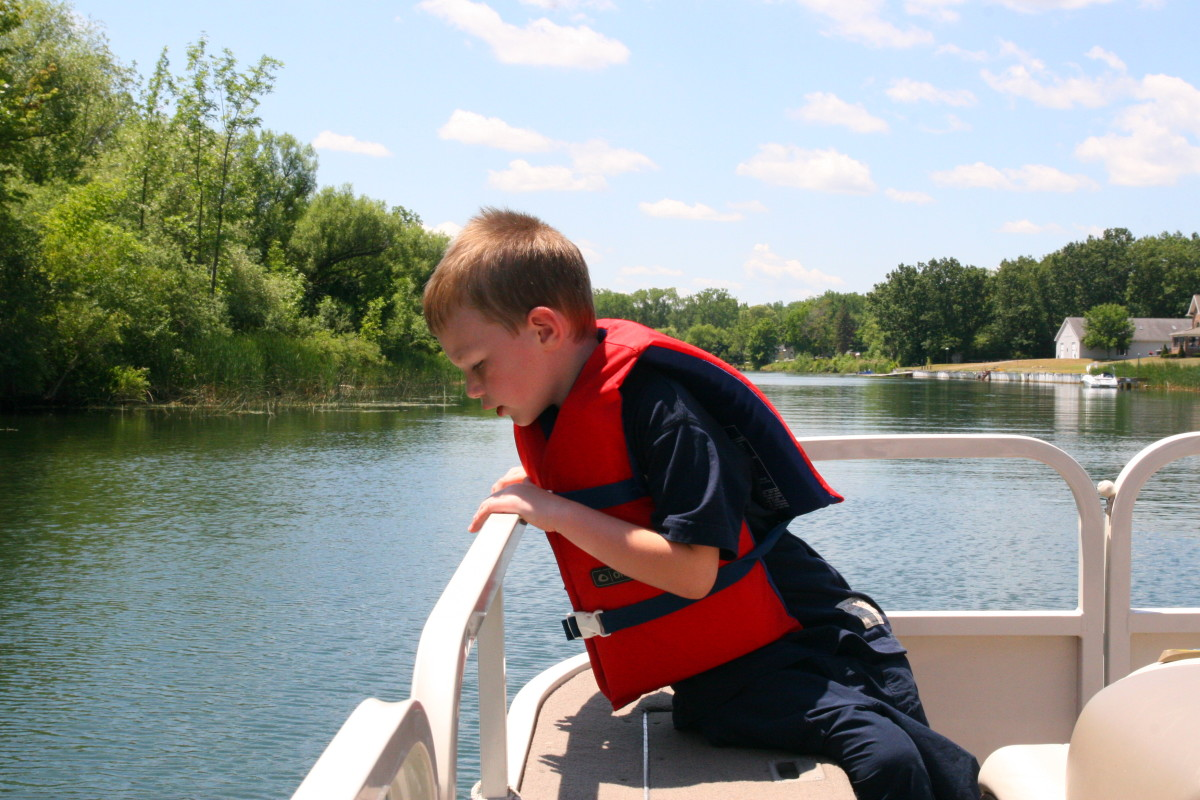 Pontoon boats are a wonderful option for families with small children, as they allow a comfortable way to explore the lakes and canals.