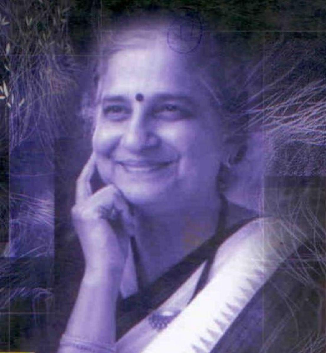 The Author: Sudha Murty