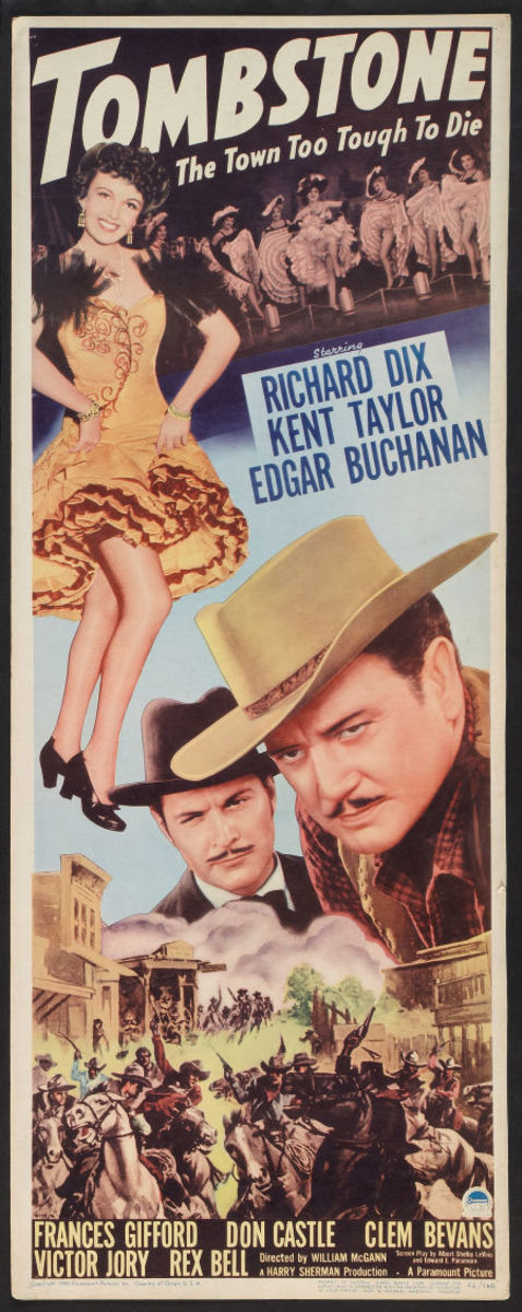 Tombstone: The Town Too Tough too Die (1942)