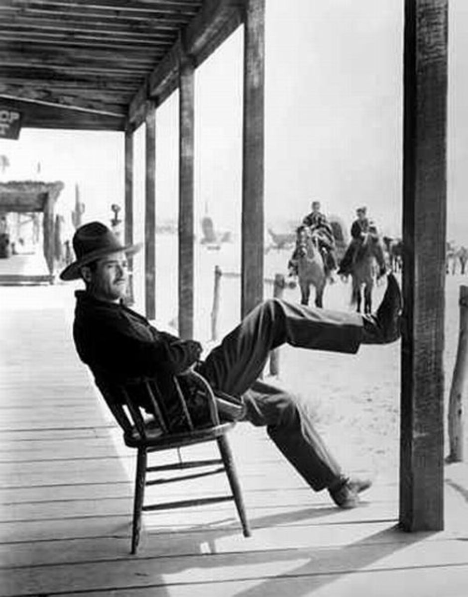 Henry Fonda as Wyatt Earp in My Darling Clementine